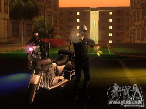Nuevas configuraciones para policías para GTA San Andreas