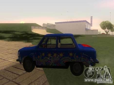 Hippie ZAZ para GTA San Andreas left