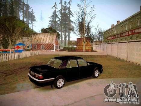 GAZ 31105 Volga S60 para la visión correcta GTA San Andreas