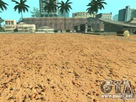 HQ playas v2.0 para GTA San Andreas segunda pantalla