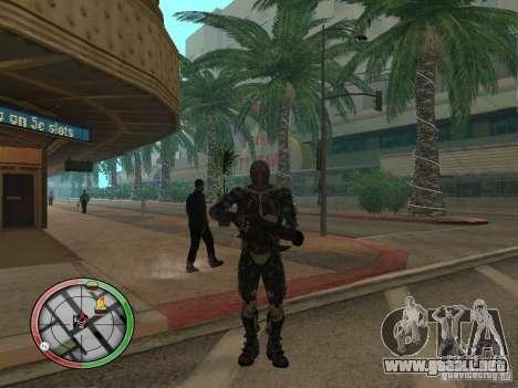 Armas exóticas de Crysis 2 para GTA San Andreas quinta pantalla
