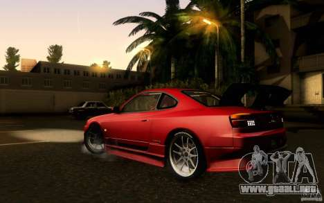 Nissan Silvia S15 Drift Style para GTA San Andreas left