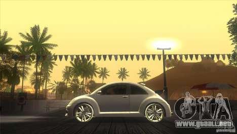Volkswagen Beetle Tuning para GTA San Andreas left