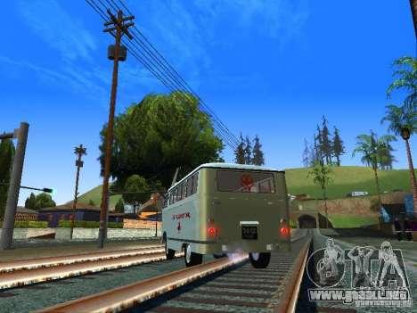Emergencia RAPH-977IM para GTA San Andreas vista posterior izquierda