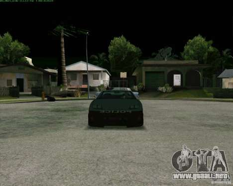 Supergt - Police S para GTA San Andreas left