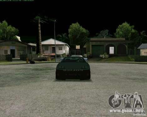 Supergt - Police S para GTA San Andreas left