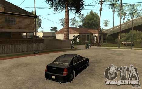 Chrysler 300C DUB para la visión correcta GTA San Andreas