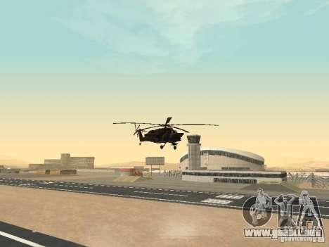 Mi-28 para visión interna GTA San Andreas