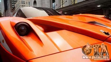 Ferrari FXX Evoluzione para GTA 4 vista interior