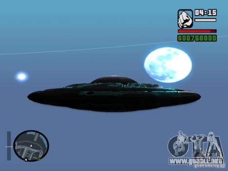 UFO para GTA San Andreas left