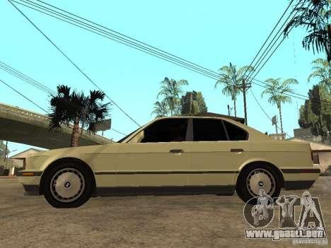 BMW 520i para GTA San Andreas left