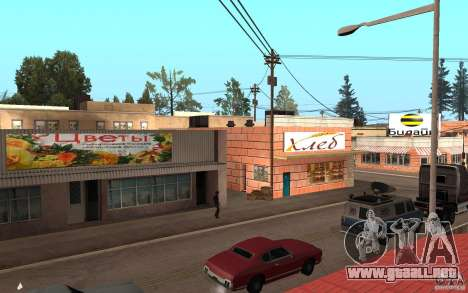 Actualizado Palamino Creek para GTA San Andreas segunda pantalla