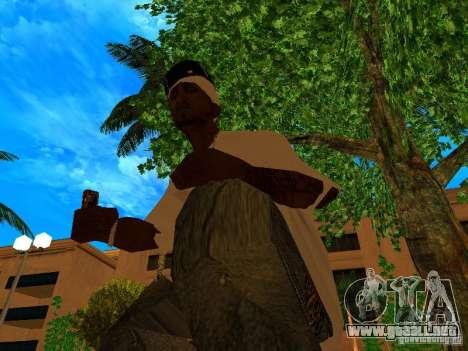 New Weapon Pack para GTA San Andreas tercera pantalla