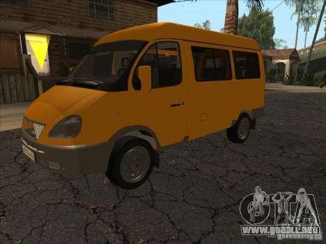 GAZ 22171 Sable para GTA San Andreas left
