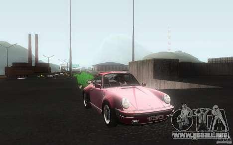Porsche 911 Turbo 1982 para visión interna GTA San Andreas