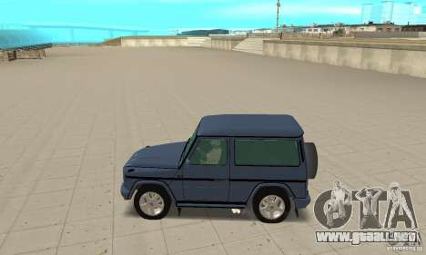 Mercedes-Benz G500 1999 Short [with kangoo v3] para GTA San Andreas left