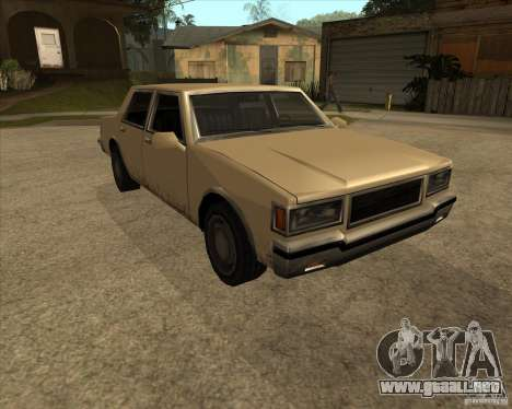 New Greenwood para la visión correcta GTA San Andreas