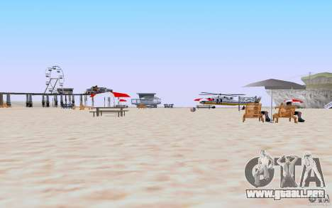Reality Beach v2 para GTA San Andreas segunda pantalla