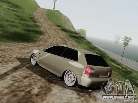 Audi A3 para GTA San Andreas left