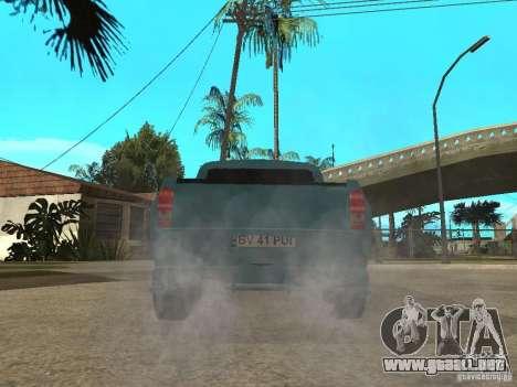 Dacia 1400 Pickup Battle Machine para GTA San Andreas left
