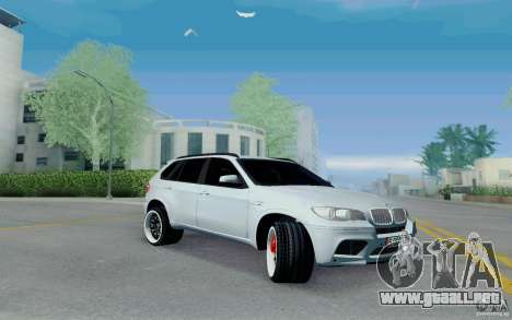 BMW X5M E70 para GTA San Andreas left
