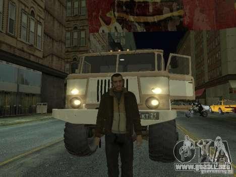 GAZ 66 desfile para GTA San Andreas left