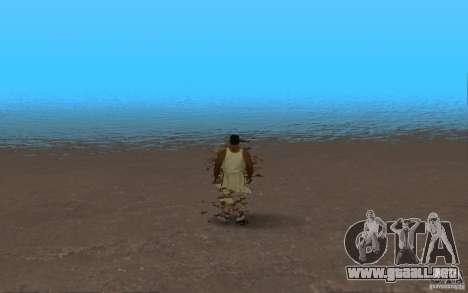 ENB Realistic Water para GTA San Andreas sucesivamente de pantalla