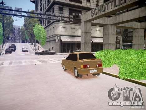 VAZ 2115 para GTA 4 visión correcta