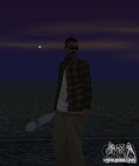 Bate El Coronos v.1.0 para GTA San Andreas segunda pantalla