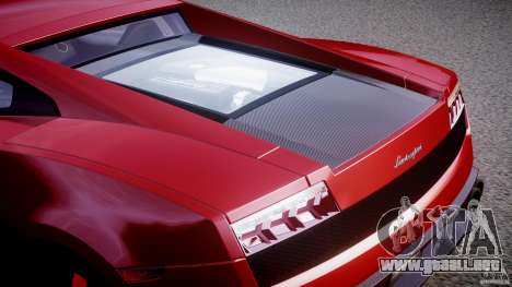 Lamborghini Gallardo LP570-4 Superleggera 2011 para GTA 4 vista desde abajo