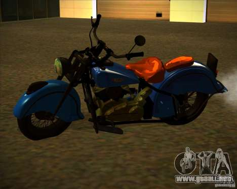 Indian Chief 1948 para GTA San Andreas vista posterior izquierda