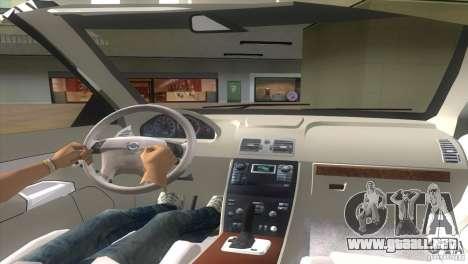 Volvo XC90 para GTA Vice City vista lateral izquierdo