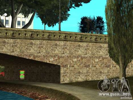 GTA SA 4ever Beta para GTA San Andreas octavo de pantalla