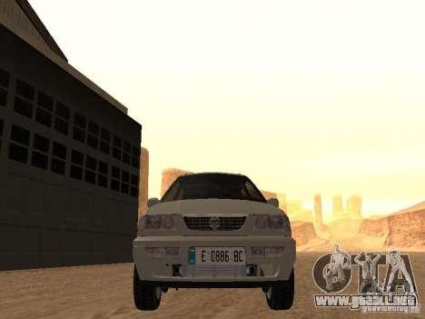 Volkswagen Passat B4 para visión interna GTA San Andreas
