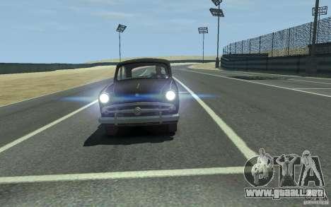 Moskvitch 407 v2.0 para GTA 4 Vista posterior izquierda