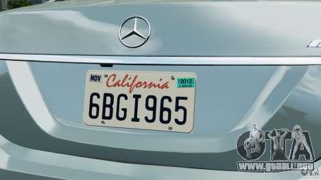 Mercedes-Benz S65 AMG 2012 v1.0 para GTA 4