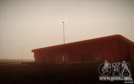 New SF Army Base v1.0 para GTA San Andreas sexta pantalla