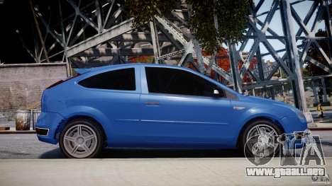 Ford Focus ST para GTA 4 vista superior
