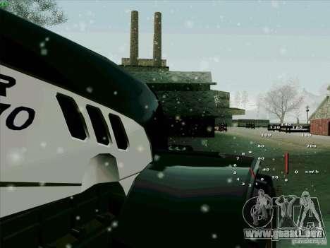 Steyr CVT 170 para visión interna GTA San Andreas