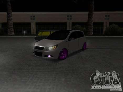 Chevrolet Aveo Tuning para la visión correcta GTA San Andreas