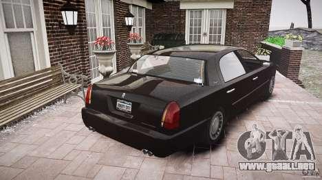 Washington FBI Car para GTA 4 vista lateral