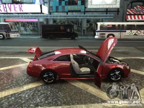 Audi S5 para GTA 4 visión correcta