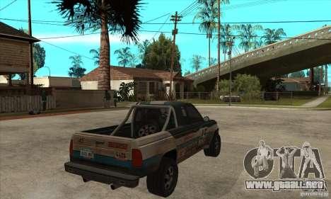 Nevada from FlatOut 2 para la visión correcta GTA San Andreas