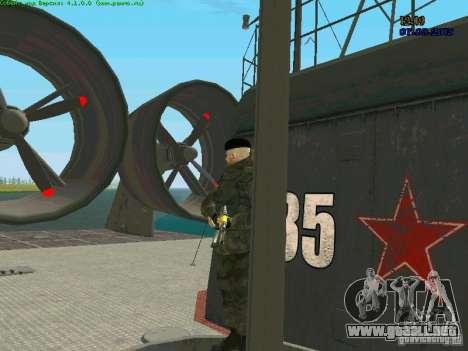 RF Marine para GTA San Andreas sucesivamente de pantalla