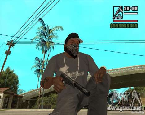 Millenias Weapon Pack para GTA San Andreas