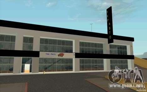 Ukravto Corporation para GTA San Andreas segunda pantalla