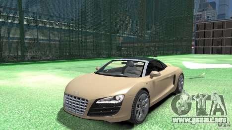 Audi R8 Spyder v10 [EPM] para GTA 4