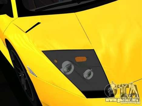 Lamborghini Murcielago LP670-4 sv para GTA San Andreas interior