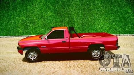 Dodge Ram 2500 1994 para GTA 4 vista lateral
