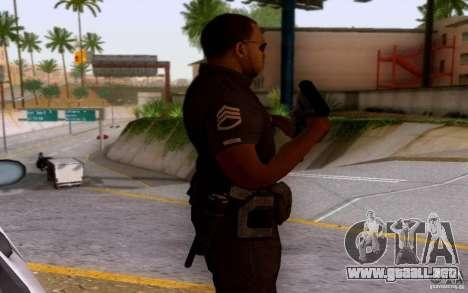 Un oficial de policía de bacalao: BO2 para GTA San Andreas tercera pantalla